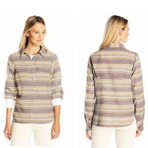 COLUMBIA Pilsner Lodge Stripe Long Sleeve Shirt M